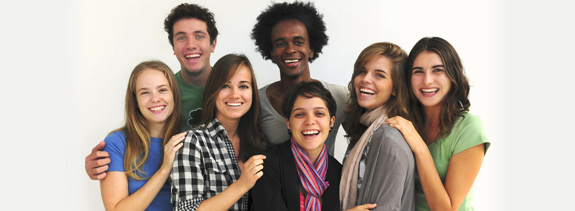 smiling group of people